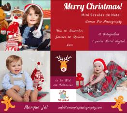 Mini Sessões Fotográficas Natal