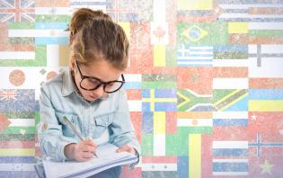 motivos criancas línguas