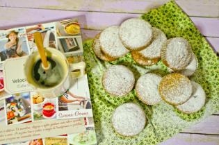 Muffins Curgete, Gengibre Limão