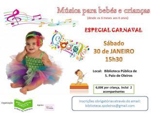 Música bebés crianças Especial Carnaval