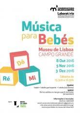 Música Bebés Museu Lisboa