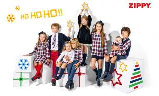 Natal divertido, matchy-matchy quentinho é ZIPPY