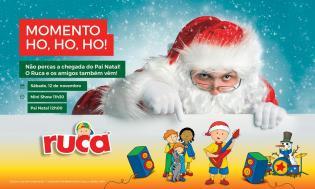 Natal Fórum Madeira Mini Show Natal Ruca