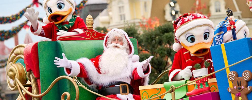 Um Natal de sonho na Disneyland Paris