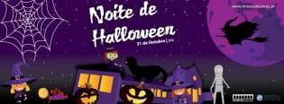 Noite Halloween Museu