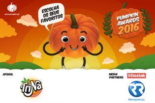 Nomeie seus Favoritos nos Pumpkin awards
