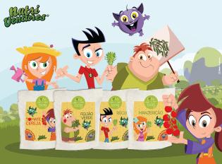 Nutri Ventures Life in Bag criam uma nutri-horta manter sua casa cheia Nutri-Powers