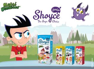 Nutri Ventures Shoyce lancaram uma gama bebidas soja