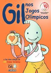 O Gil nos Jogos Olímpicos: Fundacão Gil caderneta cromos solidária
