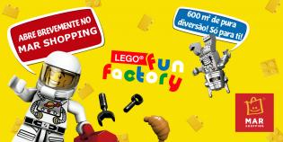 O LEGO® FUN FACTORY chega norte país