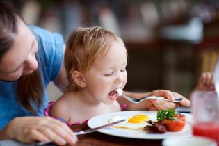 O nosso filho comida