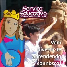 O novo ano letivo está quase começar Conheça propostas Serviço Educativo Museu Santa Maria Lamas 201617