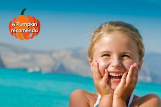 O primeiro fim semana (oficial) verão já chegou, já sabe onde ir miúdos?