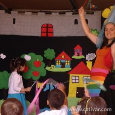 O Teatro vai à Escola Cativar
