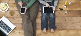 O telemóvel é mais importante seus filhos?