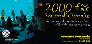 Oceanário comemora 10 anos Concerto Bebés