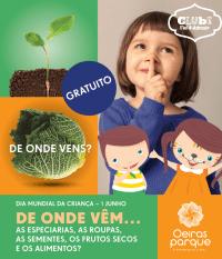 Oeiras Parque celebra Dia Criança fim semana animação