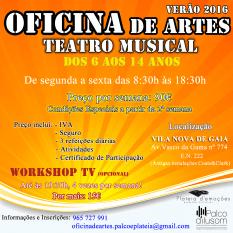 Oficina Artes Teatro Musical