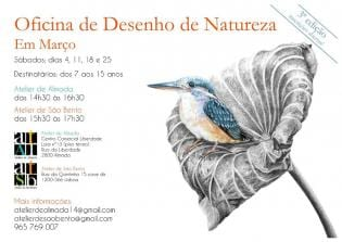 Oficina Desenho Natureza Atelier São Bento