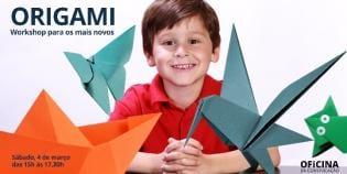 Oficina Origami Oficina Comunicação