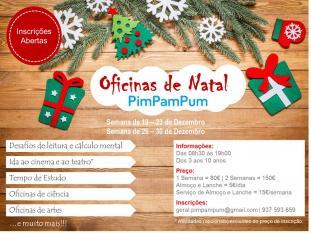 Oficinas Natal Externato PimPamPum