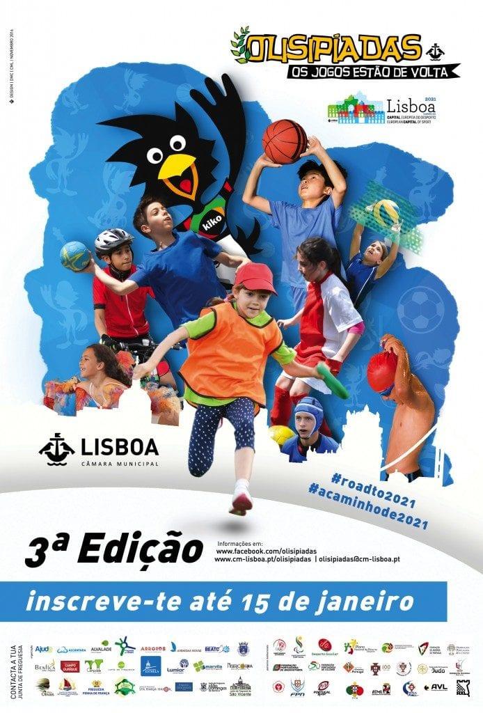 A 3ª Edição das Olisipíadas vai começar!