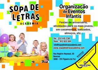 Organizacão eventos infantis