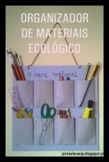 Organizador Materiais Ecológico