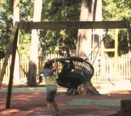 os parques infantis sem sombra