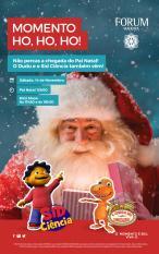 Pai Natal chega animar Forum Madeira