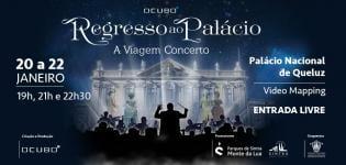 Palácio Nacional Queluz Apresenta Concerto Virtual Video Mapping Pioneiro Portugal