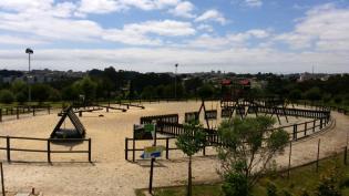 Parque Aventura Vialongo: aterro sanitário espaco famílias