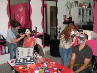 Party4Fun Workshop pinturas faciais modelagem balões
