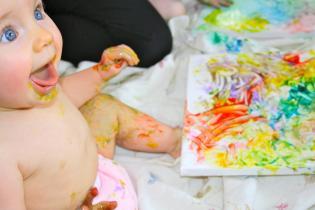 Pinturas Bebés Crianças Tintas Fruta Caseiras Comestíveis