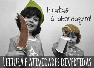Piratas à abordagem - leitura atividades mini-piratas