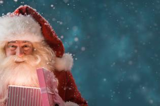 Por onde anda Pai Natal?