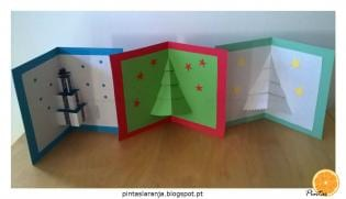 Postais Natal Pop-Up