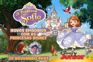 Princesa Sofia chega encantar vossos ecrãs Biblioteca Secreta