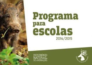 Programa Educativo Escolas 2014/2015 Tapada Mafra