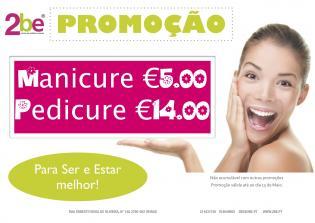 Promocão Manicure Pedicure