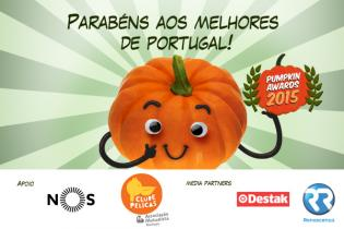 Pumpkin Awards 2015 - Conhecam vencedores Pumpkin Awards
