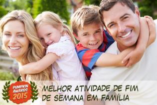 Pumpkin Awards 2015 - melhor atividade fim-de-semana famílias Portugal