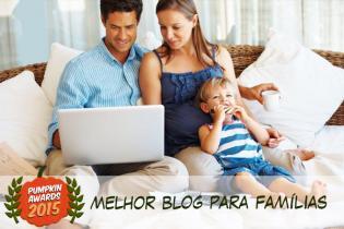 Pumpkin Awards 2015 - melhor Blog famílias Portugal