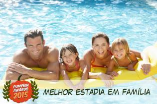 Pumpkin Awards 2015 - melhor Estadia/Hotel famílias Portugal