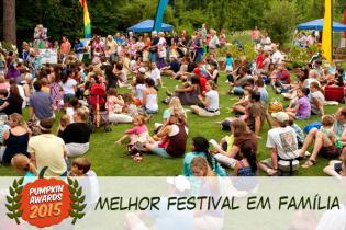 Pumpkin Awards 2015 - melhor festival criancas Portugal