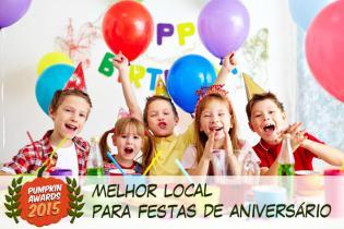 Pumpkin Awards 2015 - melhor Local Festas Aniversário Portugal