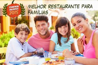 Pumpkin Awards 2015 - melhor restaurante famílias Portugal
