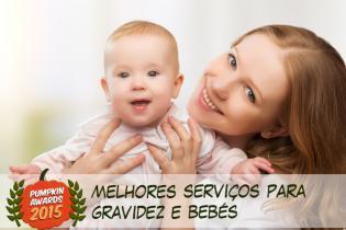 Pumpkin Awards 2015 - melhor Servico Grávidas Bebés Portugal