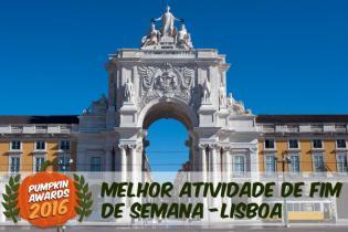 Pumpkin Awards 2016 - As Melhores Atividades Fim-de-Semana Lisboa