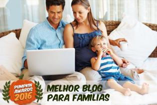 Pumpkin Awards 2016 - Melhor Blog Famílias